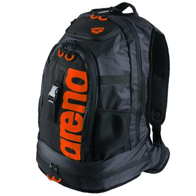 Arena Fastpack 2.0 Backpack-Black And Orange Colour