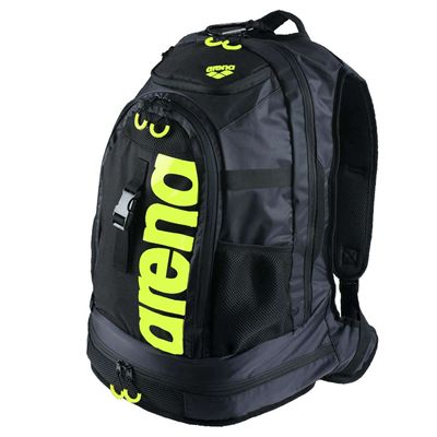 Arena Fastpack 2.0 Backpack-Black and Yellow Colour