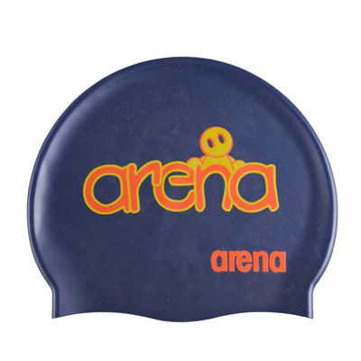 Arena Kum Junior Swimming Cap Navy