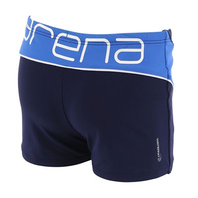 Arena Lettering Boys Swimming Shorts - Back View