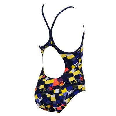 Arena Mahogany Girls Swimsuit