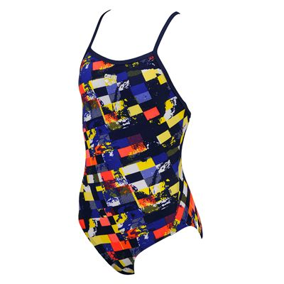 Arena Mahogany Girls Swimsuit