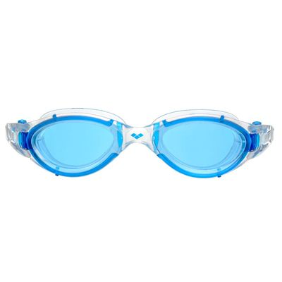 Arena Nimesis Swimming Goggles - Clear/Blue - Front