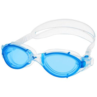 Arena Nimesis Swimming Goggles - Clear/Blue