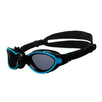 Arena Nimesis X-Fit Swimming Goggles - Turquoise/Smoke/Black Side View