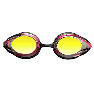 Arena Tracks Mirrored Racing Goggles - Black/Red Multi, Black - Front