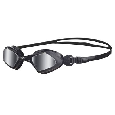 Arena Viper Mirrored Swimming Goggles - Black