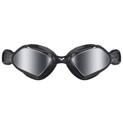 Arena Viper Mirrored Swimming Goggles - Black - Front