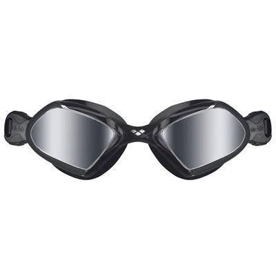 Arena Viper Mirrored Swimming Goggles - Black - Front