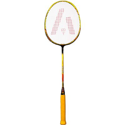 Ashaway AM9600SQ Badminton Racket-Orange-Black-Image