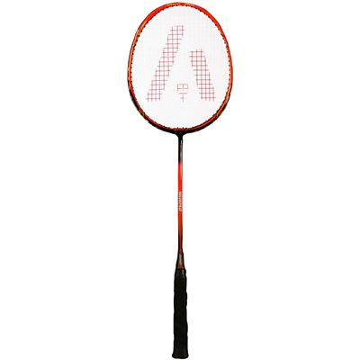 Ashaway AM9600SQ Badminton Racket-Red-Black-Image