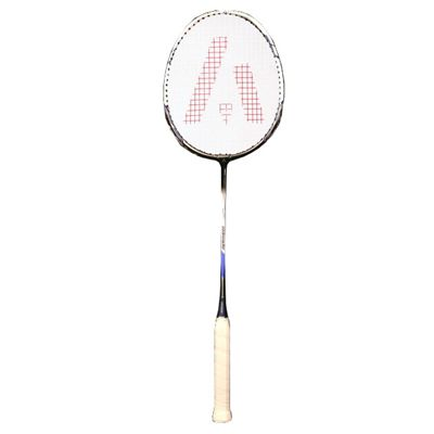 Ashaway AM9600SQ Badminton Racket-White-Blue-Image