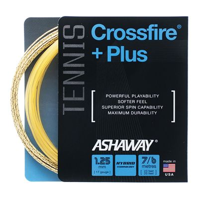 Ashaway CrossFire Plus Tennis String Set - Main Image