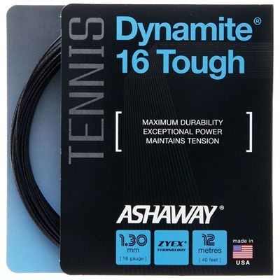 Ashaway Dynamite 16 Tough Tennis String Set - Main Image