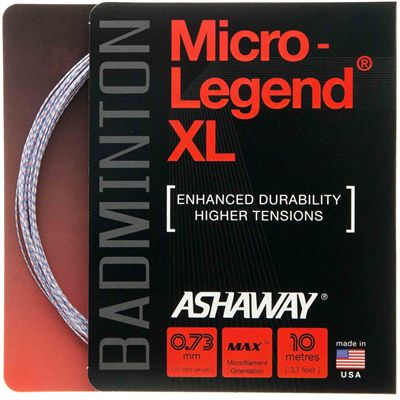 Ashaway Micro Legend XL Badminton String – 10m set