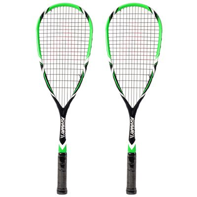 Ashaway PowerKill 115 ZX Squash Racket Double Pack