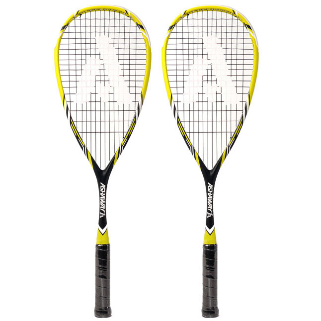 Ashaway PowerKill 130 ZX Squash Racket Double Pack