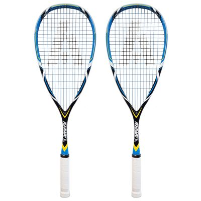 Ashaway PowerKill Ice 125 VM Squash Racket Double Pack