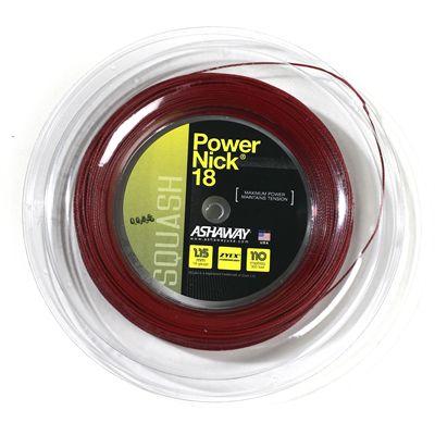 Ashaway PowerNick 18 Squash String-110m Reel