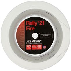 Ashaway Rally 21 Fire Badminton String - 200m Reel