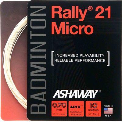 Ashaway Rally 21 Micro Badminton String - 10m set