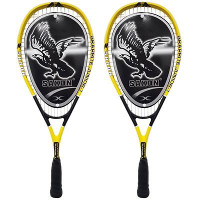Ashaway Saxon 1 Junior Squash Racket Double Pack