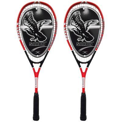Ashaway Saxon 2 Junior Squash Racket Double Pack