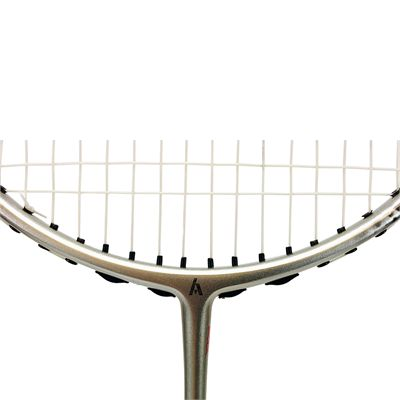 Ashaway Superlight 79SQ - Badminton Racket - Close Logo On Frame View