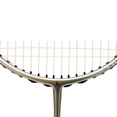 Ashaway Superlight 79SQ - Badminton Racket - Close Logo On Frame View