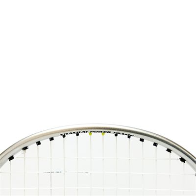 Ashaway Superlight 79SQ - Badminton Racket - Close Text On Frame View