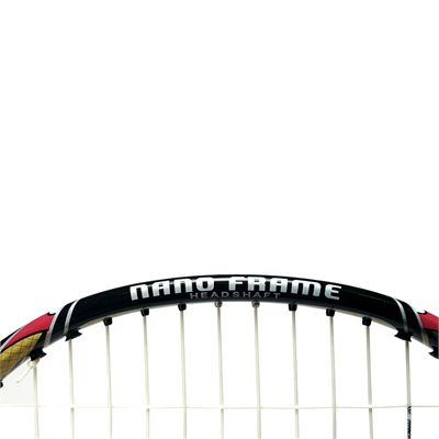 Ashaway Superlight T5SQ - Badminton Racket - Top Head View