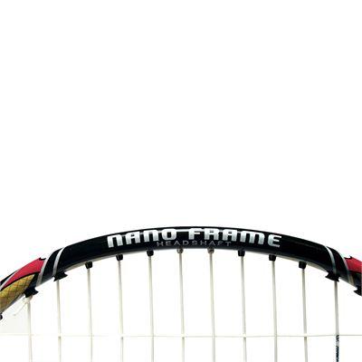 Ashaway Superlight T5SQ - Badminton Racket - Top Head View