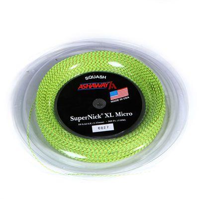 Ashaway Supernick XL Micro Squash String - 110m Reel