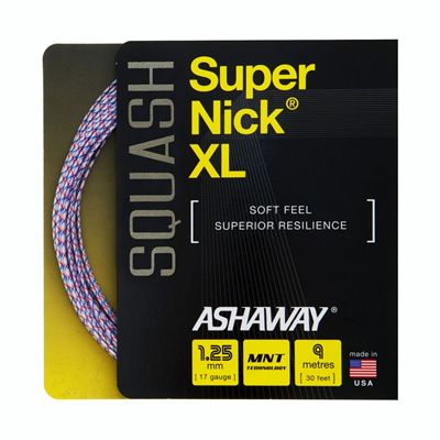 Super Nick XL Squash String - 9m set