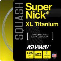 Ashaway Supernick XL Titanium Squash String - 9m set