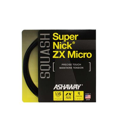 Ashaway SuperniNick ZX Micro Squash String Set