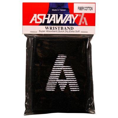 Ashaway Towelling Wristband-Black