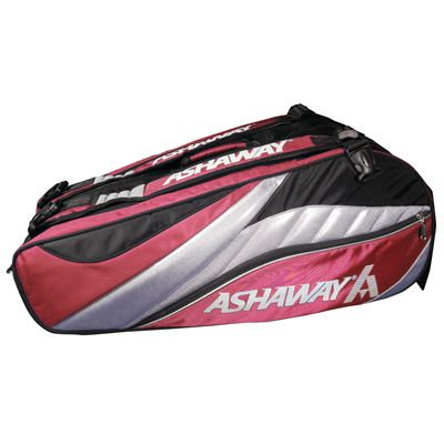 Ashaway Triple ATB863T 9 Racket Bag - Red