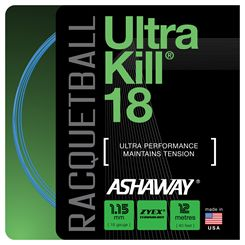 Ashaway UltraKill 18 Racketball String Set