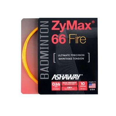 Ashaway Zymax Fire 66 Badminton String-10m Set-Orange