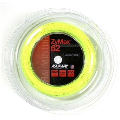 Ashaway ZyMax Badminton String - 200m Reel - 62mm