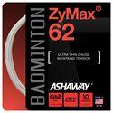 Ashaway ZyMax Badminton String - Single Set 62mm white