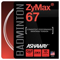 Ashaway ZyMax Badminton String - Single Set