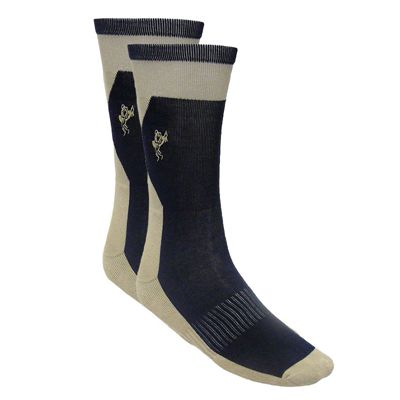 Ashworth Mens Cotton Rich Golf Socks Cream NavyAshworth Mens Cotton Rich Golf Socks Cream Navy