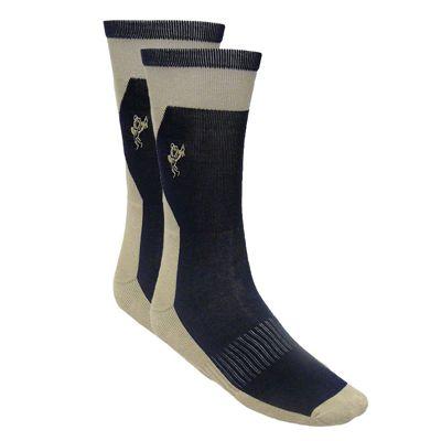 Ashworth Mens Cotton Rich Golf Socks Cream NavyAshworth Mens Cotton Rich Golf Socks Cream Navy