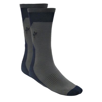 Ashworth Mens Cotton Rich Golf Socks Navy Grey1