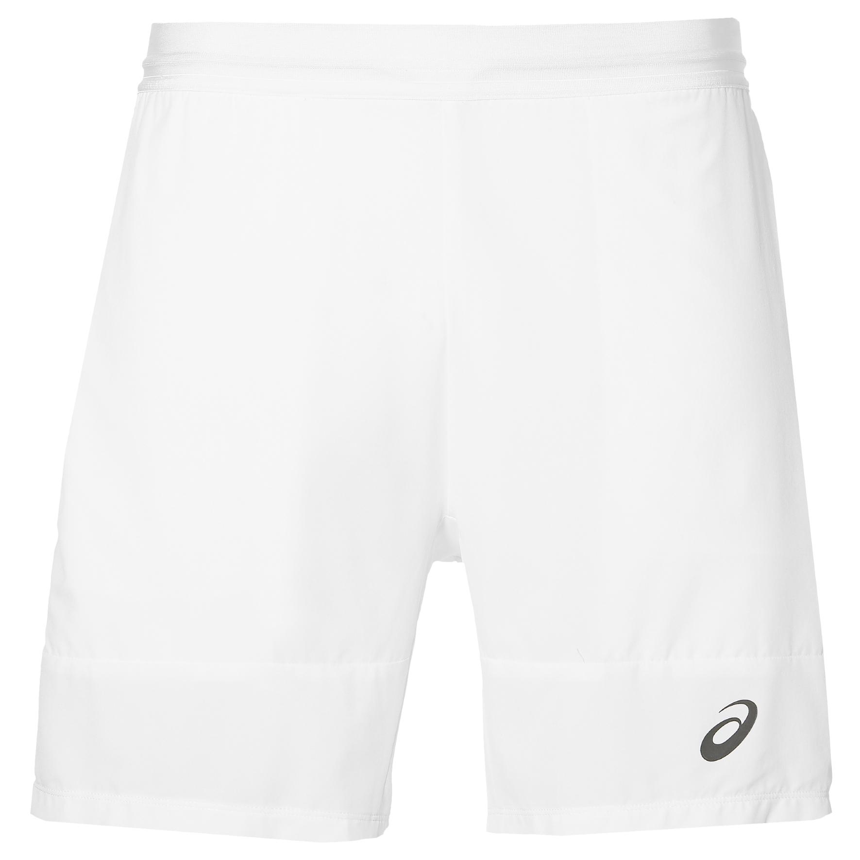 Asics Athlete 7 Inches Mens Tennis Shorts  White S