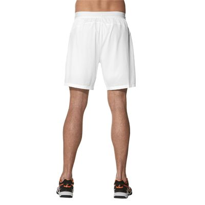 Asics Athlete 7 Inches Mens Tennis Shorts - Backt - Model