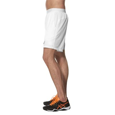 Asics Athlete 7 Inches Mens Tennis Shorts - Side - Model