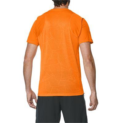 Asics Athlete Cooling Mens Tennis T-Shirt - Back